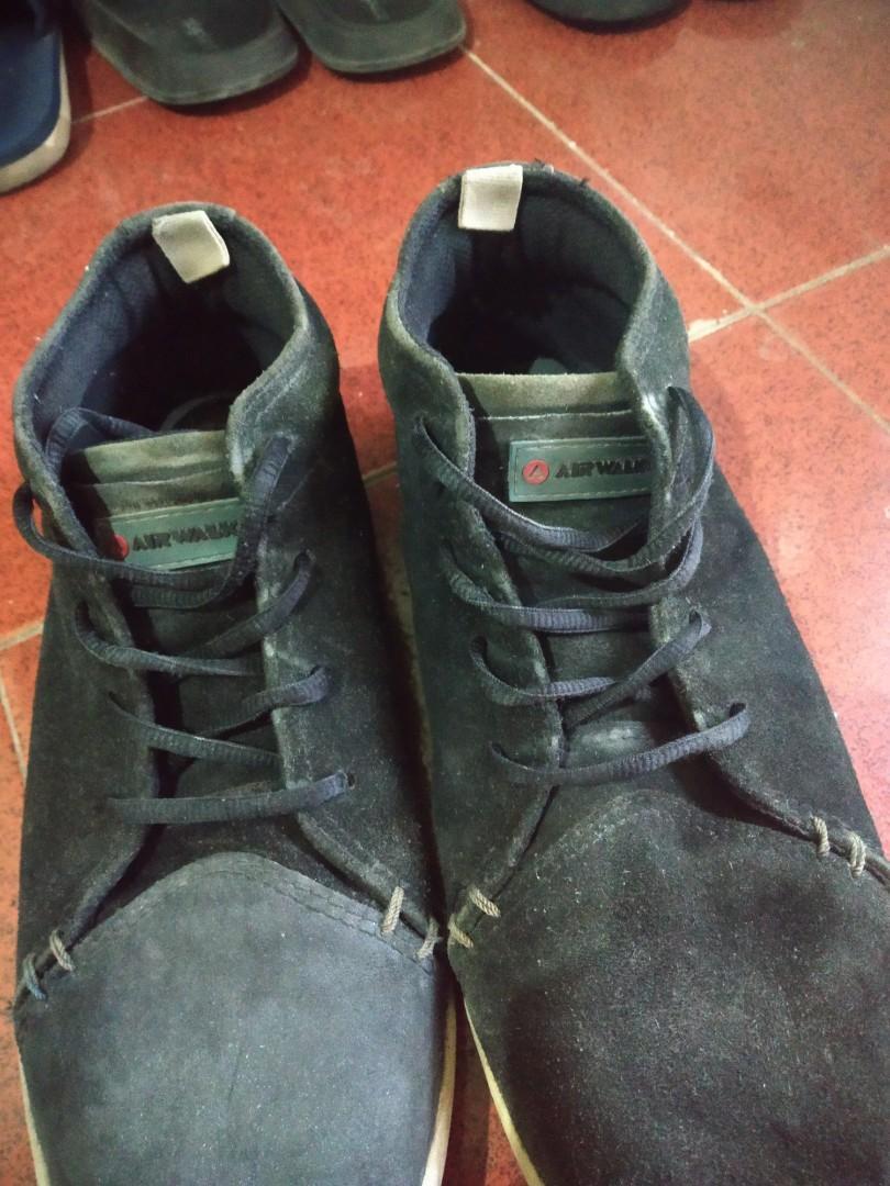 sepatu airwalk high suede