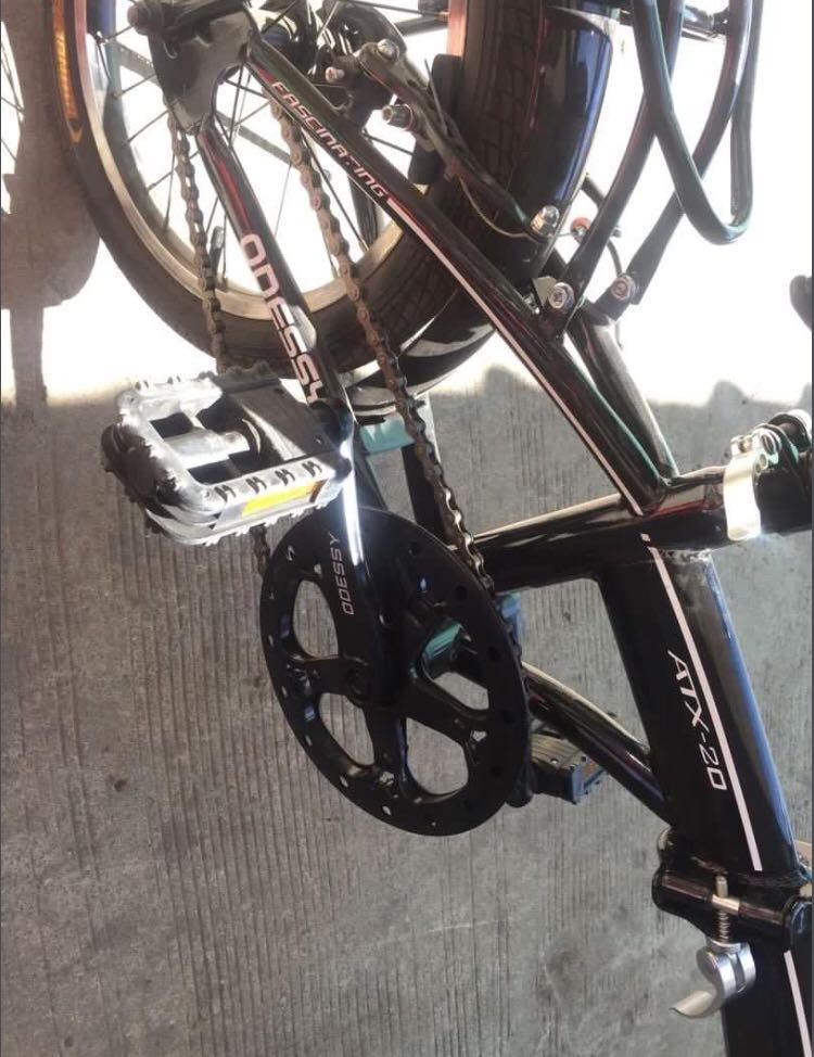 Sepeda Lipat Odessy 16 Inch