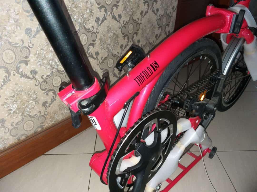 Sepeda lipat bisa dicicil hanya 3 menit
