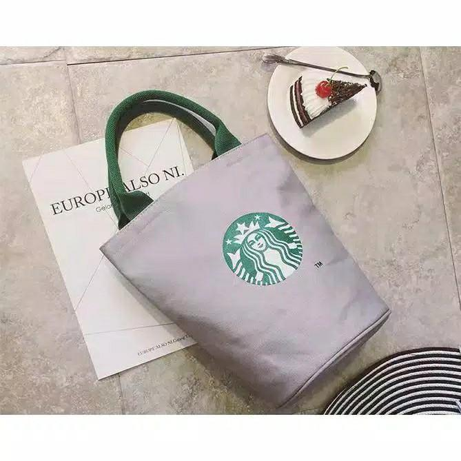 Starbucks printed bag