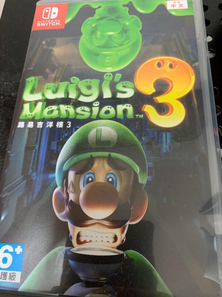 switch game luigi mansion 3
