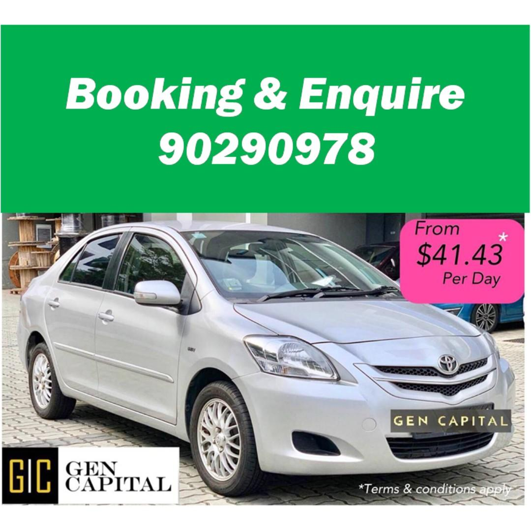 Toyota Vios - - Deposit $500 and drive off! 90290978