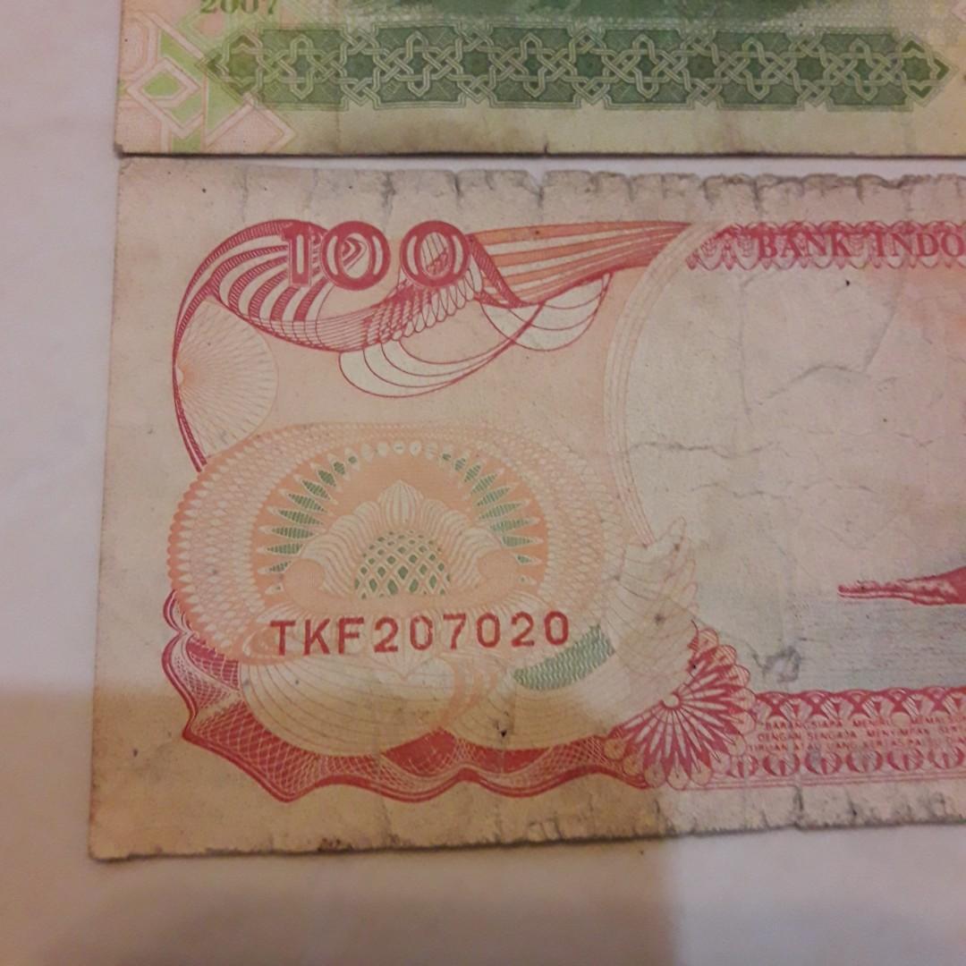 Uang Lama nomer cantik ❤