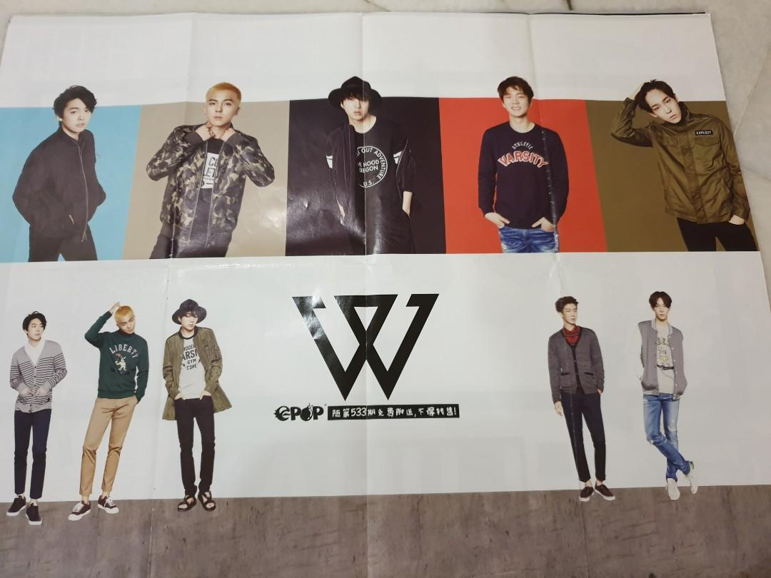 Unofficial posters (WINNER, MONSTAX, GOT7, SEVENTEEN)