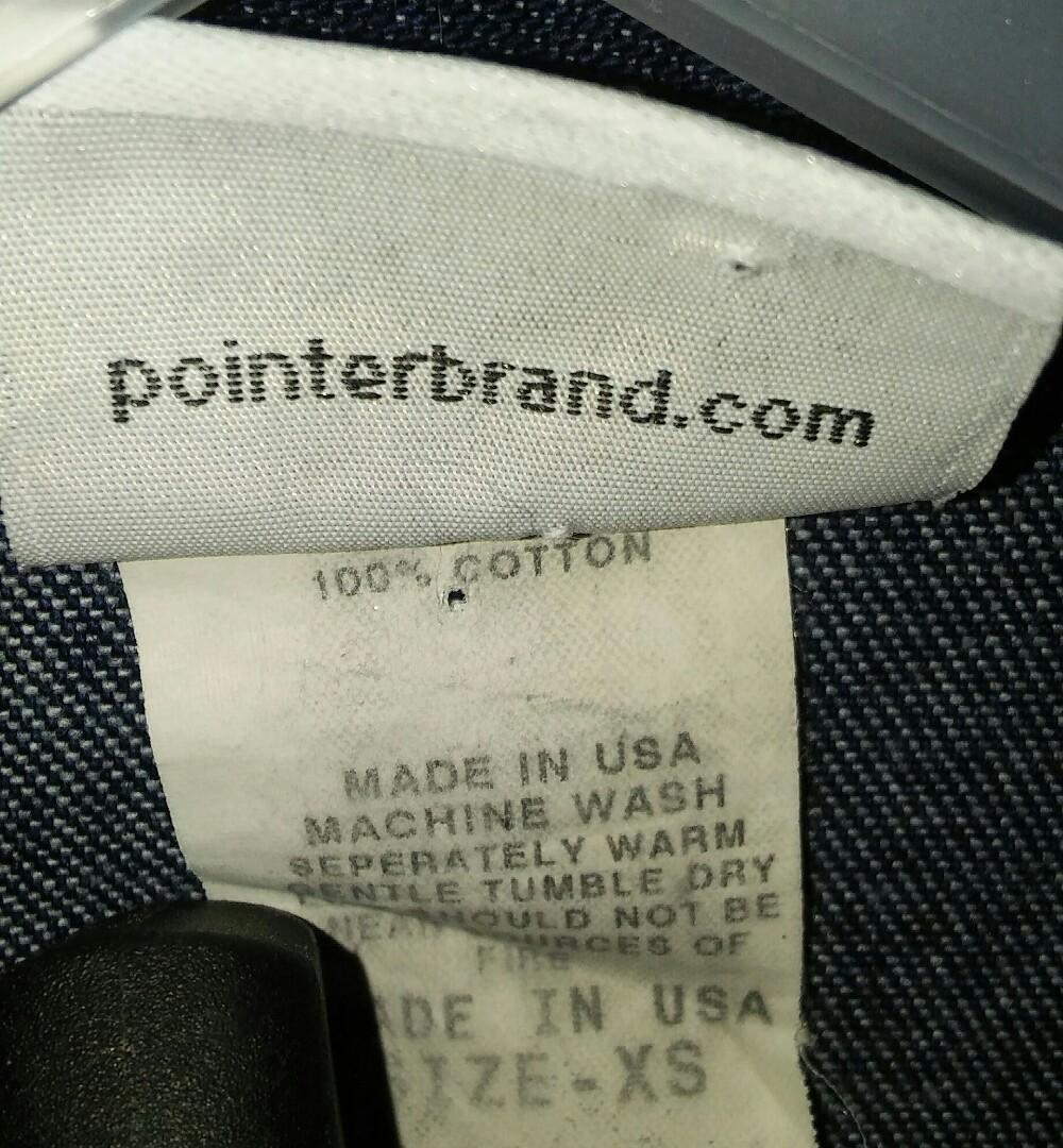 USA Pointer Pre-Washed Denim Jacket 牛仔褸外套古著