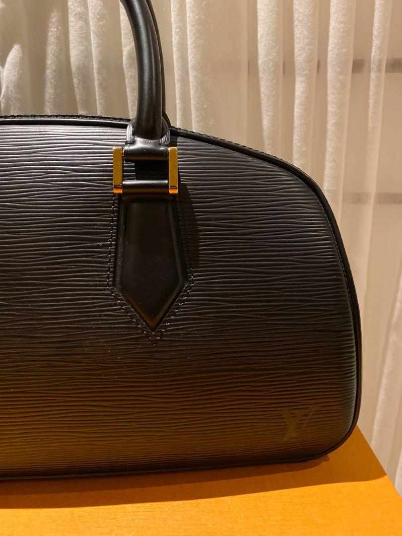 Vintage Louis Vuitton Black Epi Leather Jasmin Handbag