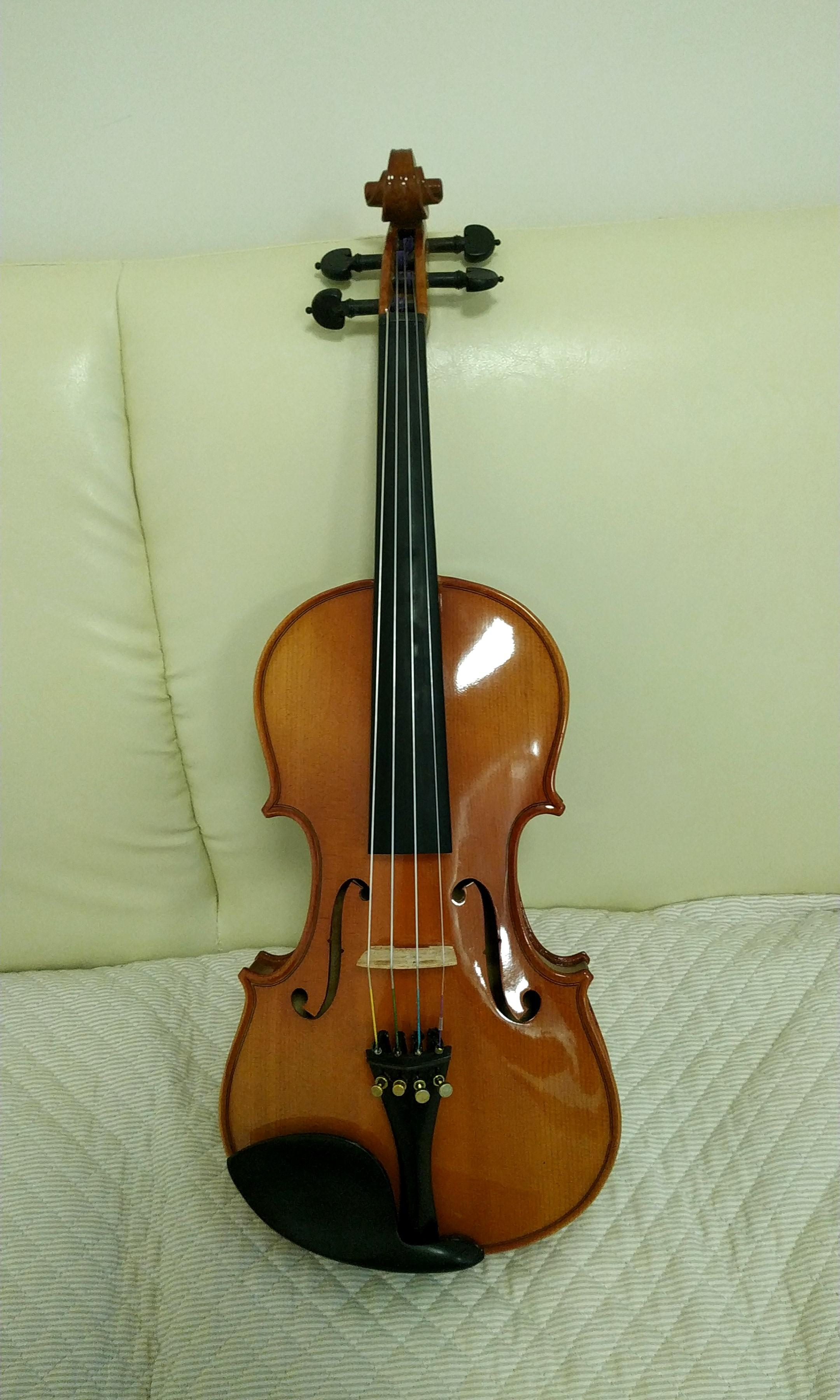 Violin 4/4 (Original Price $2800 with 4 sets of Dominant strings -90%new)