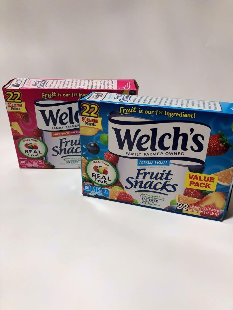 Welch's 美國100%維他命C果汁軟糖 $58/22小包,順豐到付