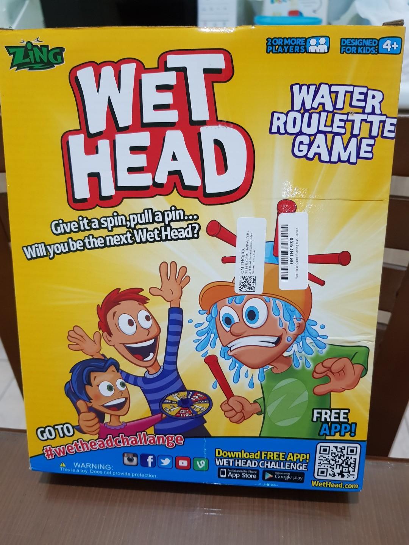 Wet head board game
