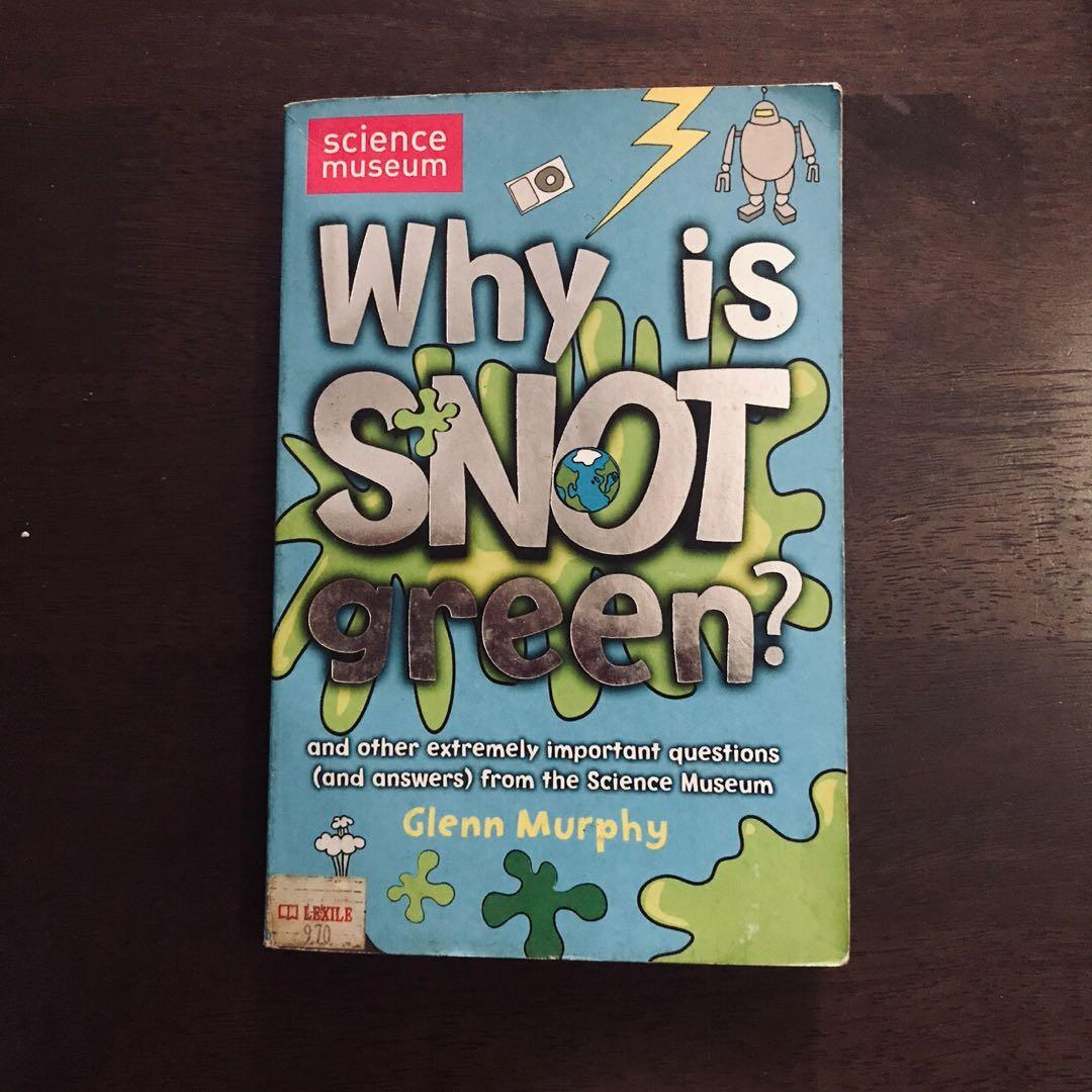 Why is Snot Green? - Questions and Answers from the Science Museum