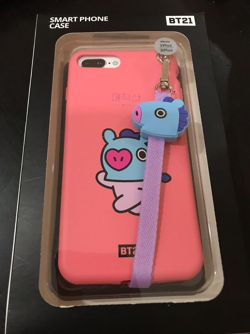[WTS] BT21 Magic Shop Mang Phone Case (iPhone 7plus/8plus)