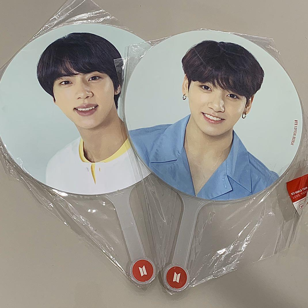 WTS bts image picket love yourself seokjin and jungkook