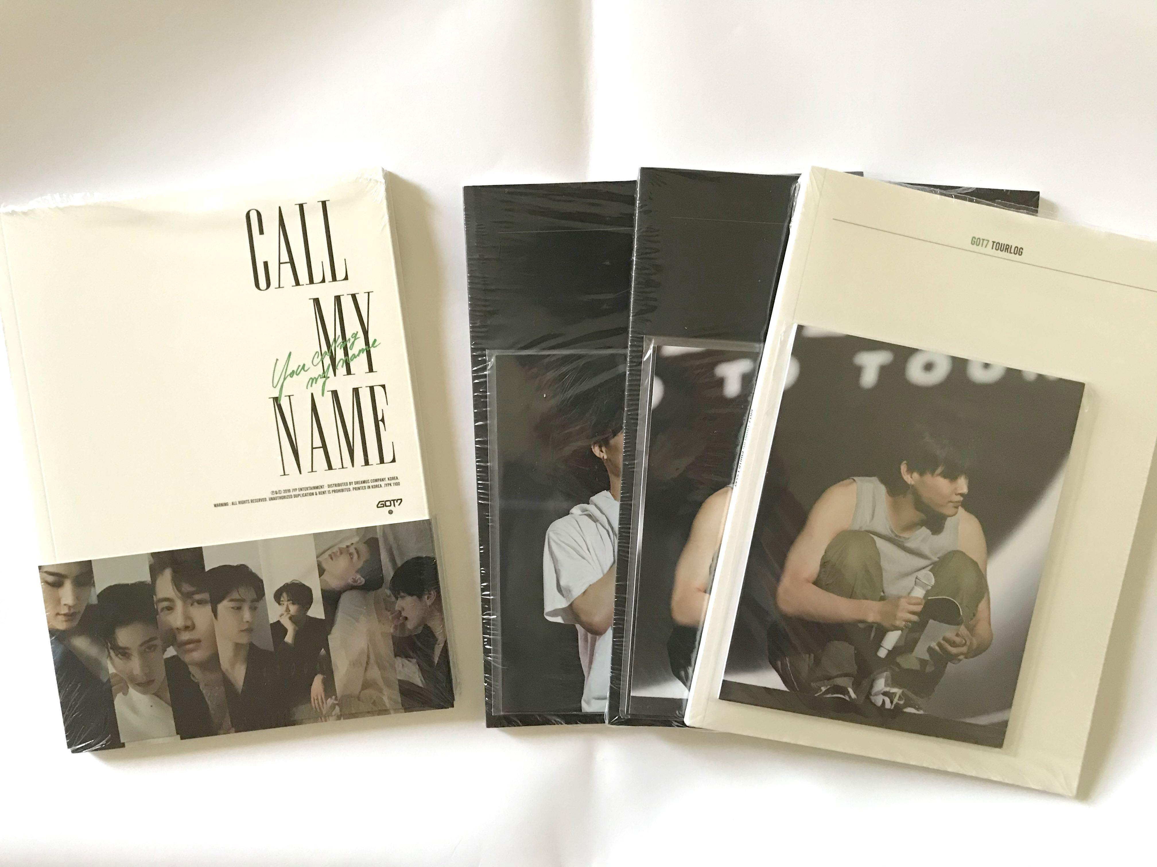 [WTS]  GOT7 Call My Name Official Album + free poster (folded)