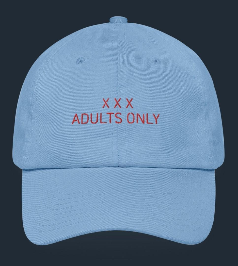 XXX Dont Ask Embroidered Ball Cap by Designs By You