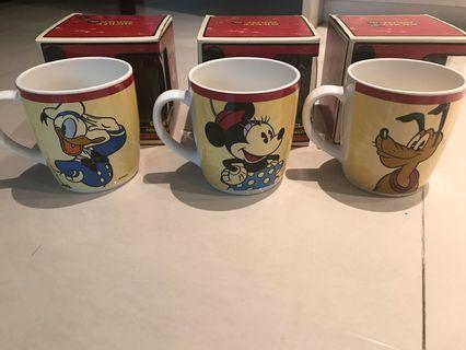 2015 微風之夜 限定迪士尼馬克杯 米妮 唐老鴨 布魯托