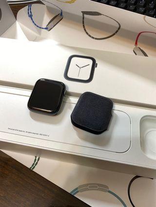 Apple Watch S4 44mm GPS 太空灰 (保固中)series 4 蘋果手錶 iwatch