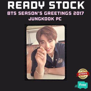BTS SEASON'S GREETINGS 2017 JUNGKOOK PC