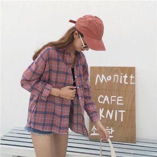 百搭格紋襯衫#剁手時尚