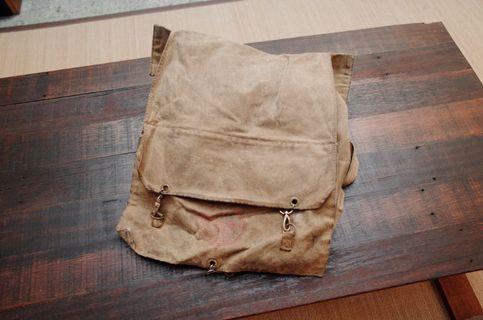 復古帆布美國童軍背包
