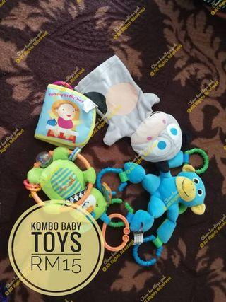 Combo baby toys