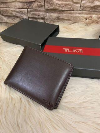 Dompet tumi full set authentic ex display never been used, new harga second