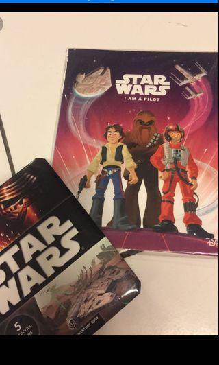 2 Star Wars books