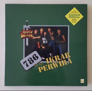Rusty Blade Vinyl Record LP
