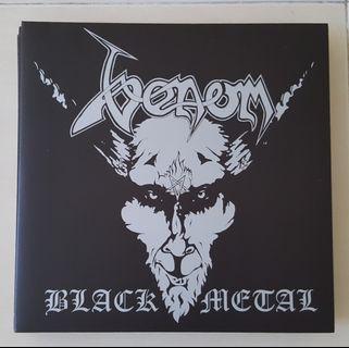 Venom Black Metal Vinyl Record LP