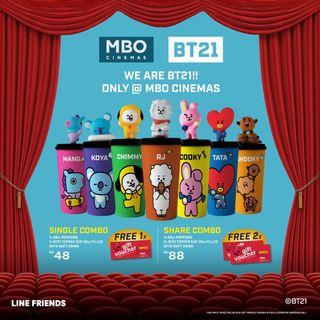[PREORDER] MBO Malaysia x BT21 Regular Topper Cup Shopping Service (10th November, 2019)
