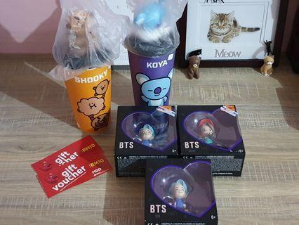 [PURCHASED] BT21 Regular Topper Cup & BTS Mini Vinyl Shopping Service (7-10/11)