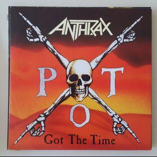 Anthrax Poster Covet Sleeve Vinyl Record