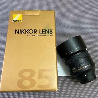 Nikon 85mm f1.8G  (公)