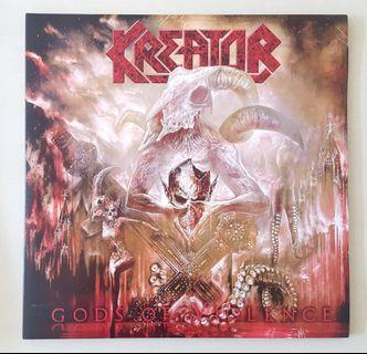 Kreator Gods Violence Vinyl Record LP