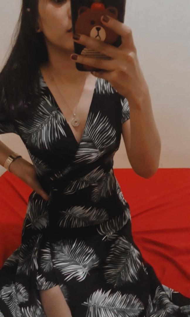 #1111special Dress Leaf