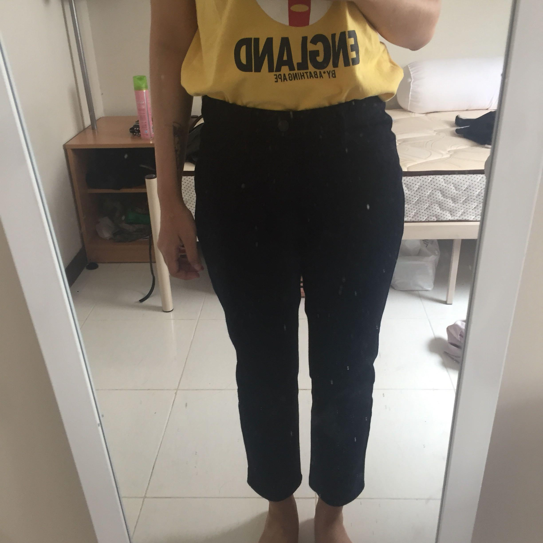 #1111special uniqlo jeggings denim bottom celana panjang