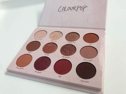 Colourpop 眼影盤 Give It To Me Straight