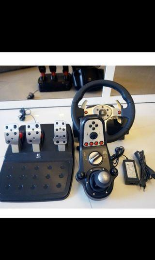 Steering Wheel Logitech G25 for PC PS Xbox