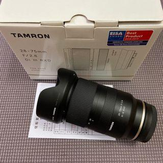 Tamron 28-75mm F/2.8 A036 Sony E (公) 保內