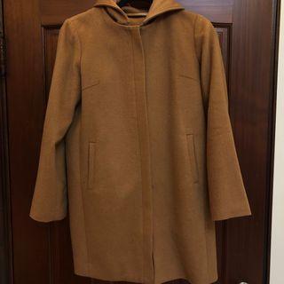 日系品牌 駝色色大衣