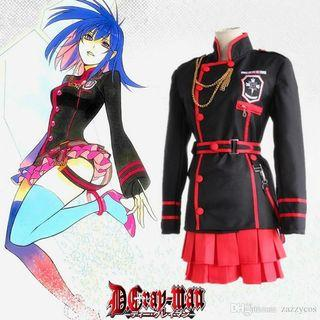 RENT/SALE D Gray Man Lenalee Lee 3rd Uniform Cosplay Costume