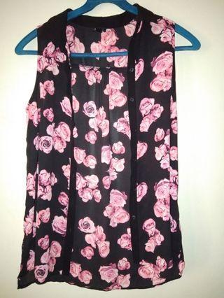 Baju tokito floral / flower