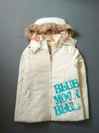 Blue Moon Blue Women Jacket