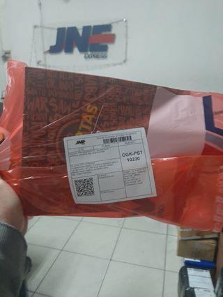 Paket jne sudah dikirim tgl 18-11-2019 ke jakarta-pusat