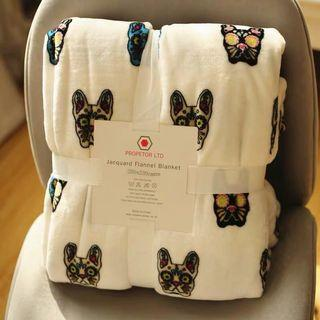 OshareGirl 11 歐美出清法蘭絨單層毛毯法蘭絨毯