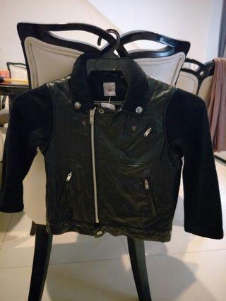 UNIQLO Kids Jacket (synthetic leather)