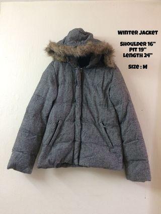 Winter Jacket with hoodie