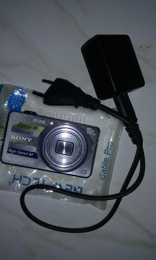 #1111special [Nego/barter] Kamera Digital Sony Silver