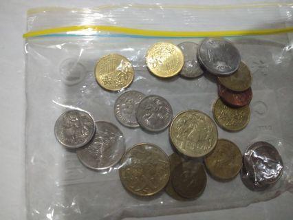 Uang koin mancanegara