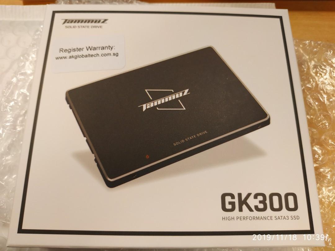 1TB SSD Sata Tammuz GK300 local warranty 1000Gb laptop desktop