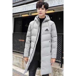 ADIDAS長版外套(黑白兩色)